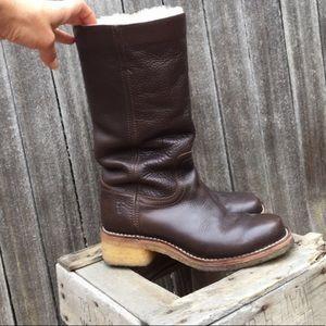 Frye Shoes - Frye rubber sole boots